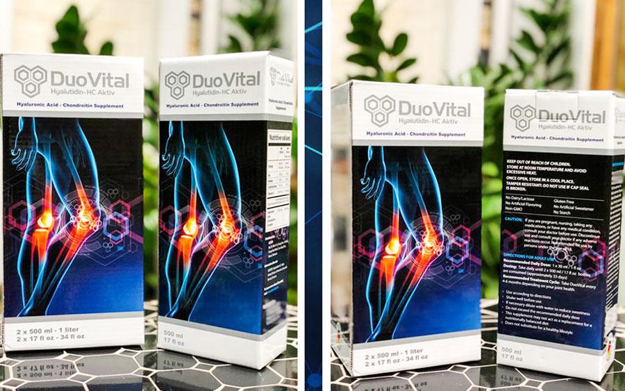Duo Vital của Đức – Hỗ trợ điều trị bệnh xương khớp