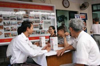 Duo Vital Tổ chức chương trình khám và tư vấn sức khỏe