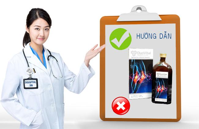 Hướng dẫn sử dụng Duo Vital để phòng ngừa và điều trị thoái hóa Khớp